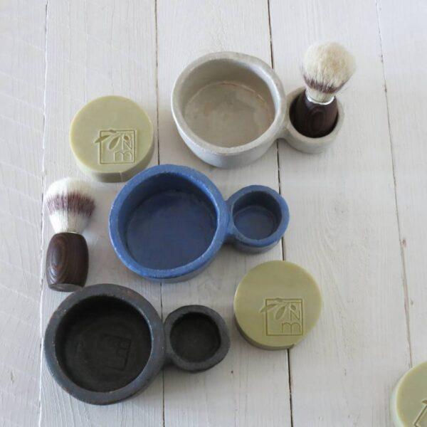 Cuencos ceramica para afeitar