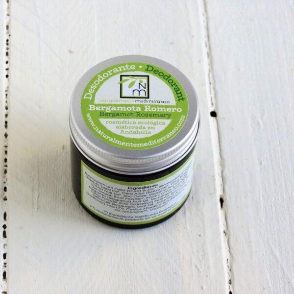 bergamot rosemary deodorant