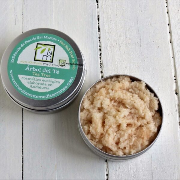 foot scrub tea tree