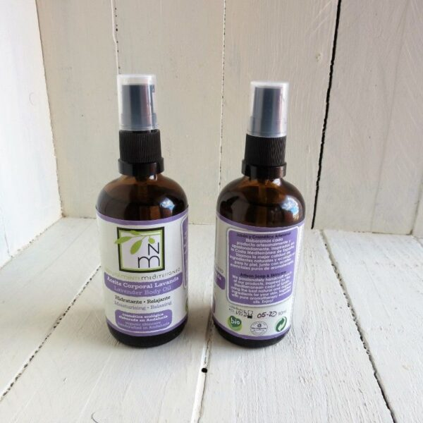 moisturizing body lavander oil