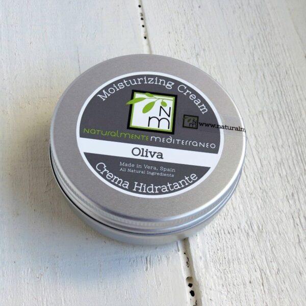 crema hidratante oliva grande 85g naturalmente mediterraneo