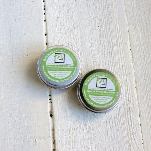 Spearmint Eucalyptus lip balm organic certifation