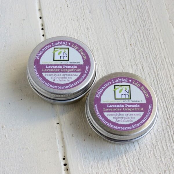 lavender grapefruit lip balm