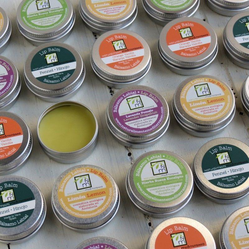 balsamos labiales ingredientes organicos