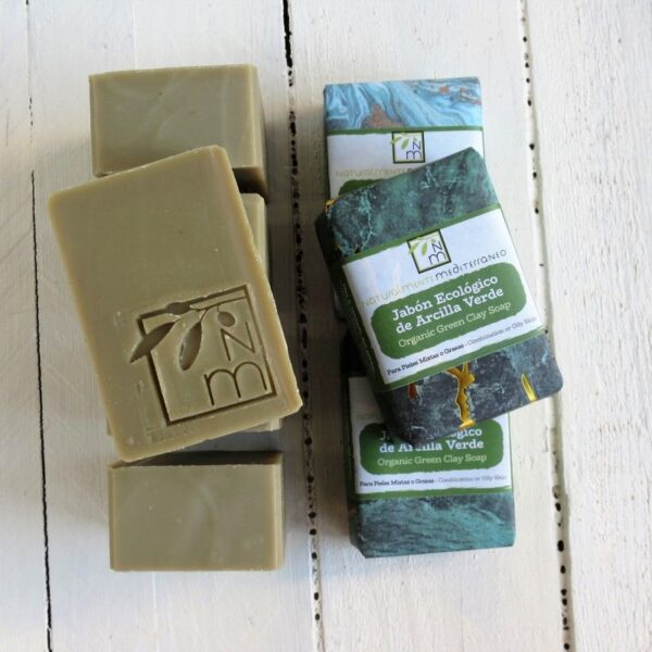 jabon arcilla verde ecologico