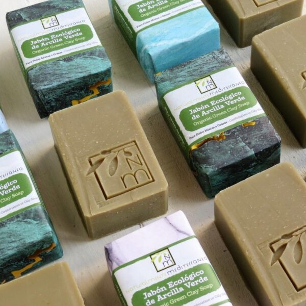 organic green clay soap