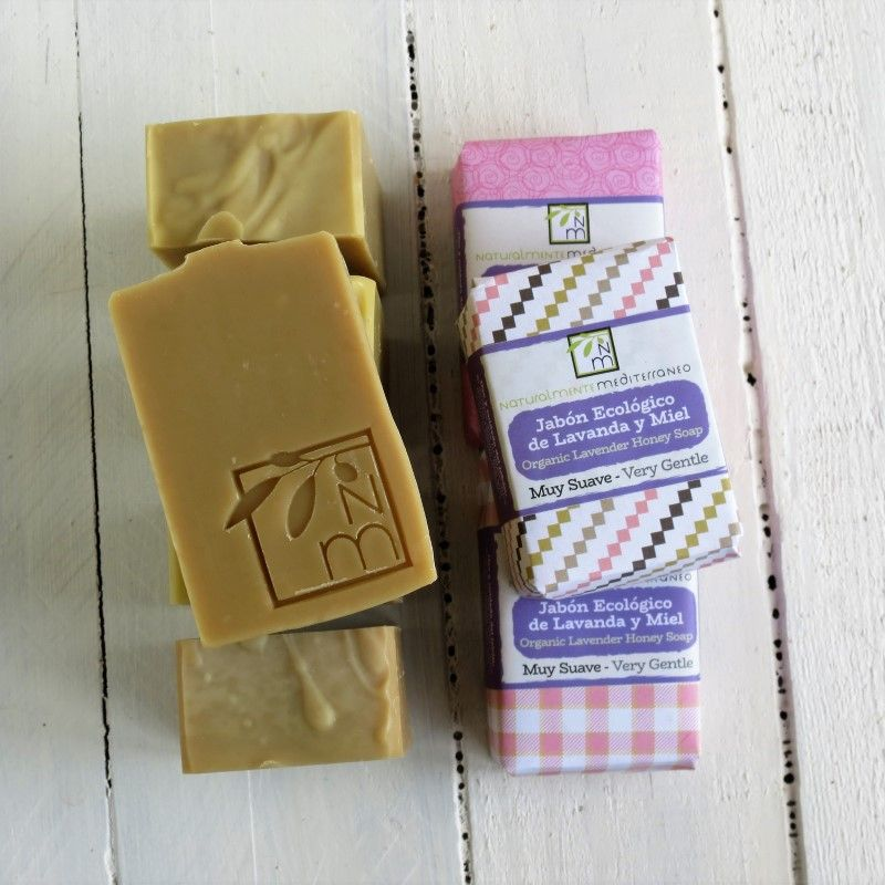 lavander honey soap