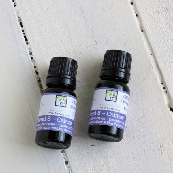 relaxing blend of aromatherapy lavander