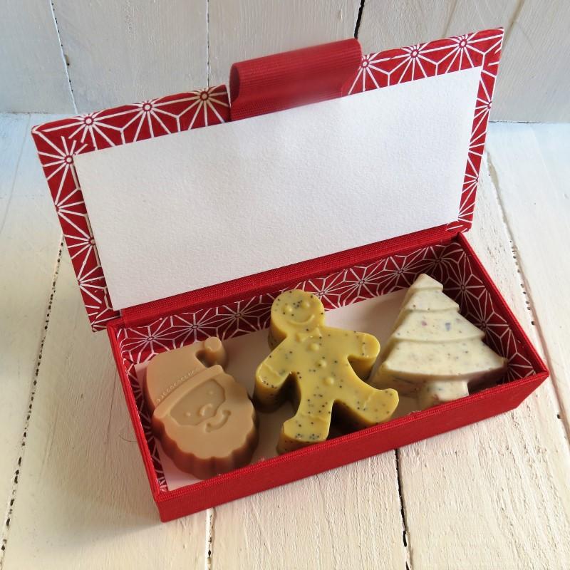 caja jabones especial navidad
