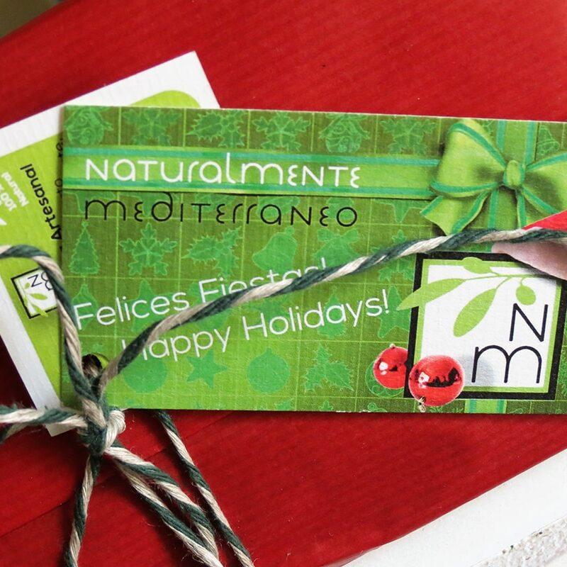 Tarjeta regalo Naturalmente mediterraneo
