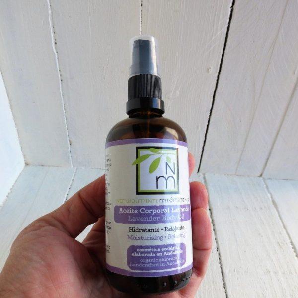 moisturizing body lavander oil