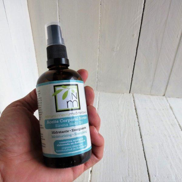 moisturizing body sirena oil nm