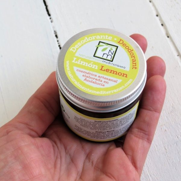 lemon deodorant organic