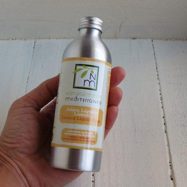lemon liquid soap