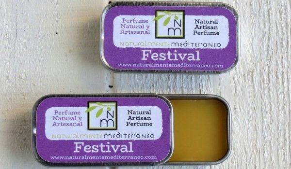 Festival solid Perfume organic
