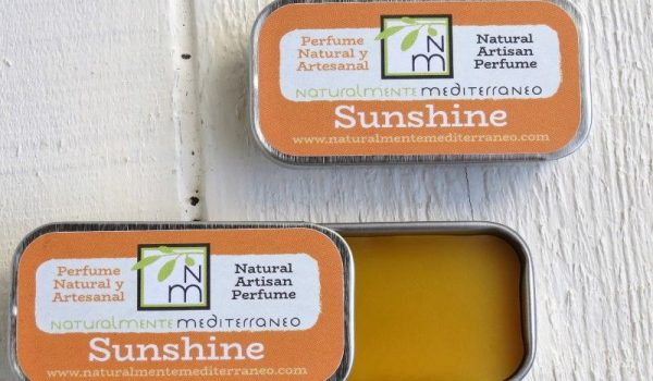 solid perfum sunshine organic